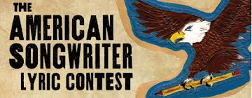 text and illustration logo of The American Songwriter Lyric Contest