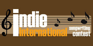 illustrated logo of indie international songwriting contest