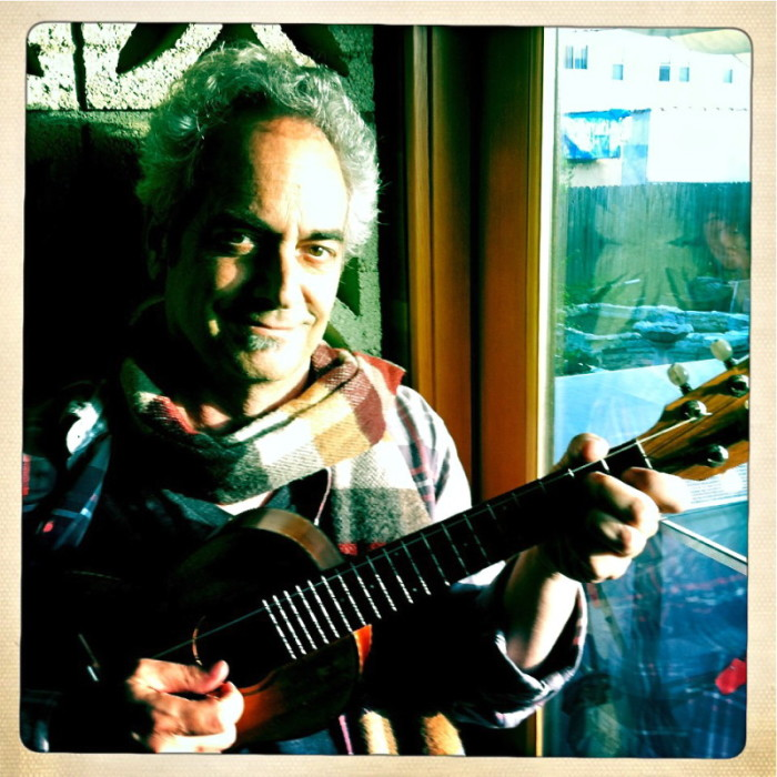 Photo of singer/songwriter Richard Goldman