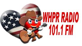 WHPR Radio staion logo 101.1 FM