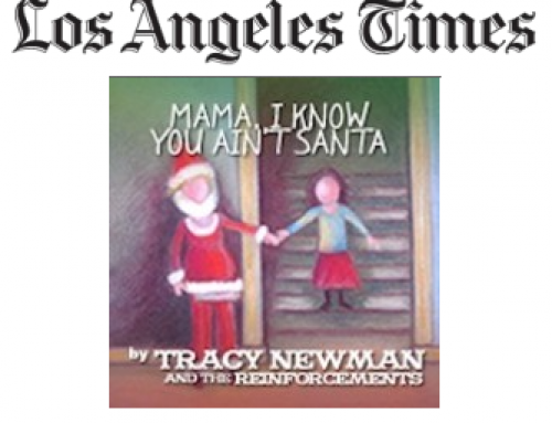 Read LA Times – Randy Lewis on Tracy's Christmas Song