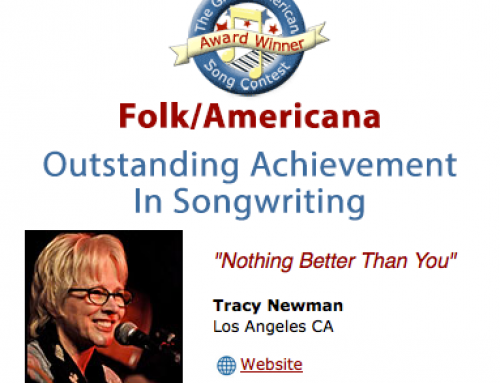 Outstanding Achievement at The Great American Song Contest 2016
